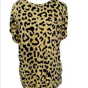 BNWT LuLaRoe cheetah Olive
